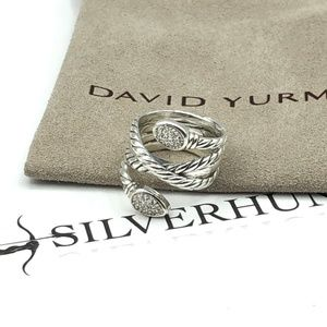 David Yurman Crossover Confetti Ring sz 6.5